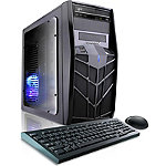 CybertronPC Black Trooper-A87 Gaming PC with AMD A8-7600 Processor