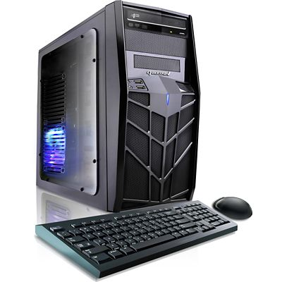 CybertronPC Trooper-X68 Gaming PC with AMD A4-6300 Processor, AMD Radeon HD 8370D Graphics, 4GB Memory