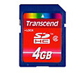 Transcend 4GB SDHC Card