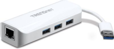 TRENDnet USB 3.0 to Gigabit Adapter + USB Hub