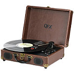 QFX Turn 101 Portable Suitcase Record Player