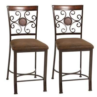Steve Silver Turner Counter Height Dining Chairs Set of 2