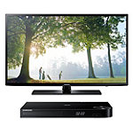 Samsung 55' 1080p 120Hz LED Smart HDTV with FREE Blu-ray Player 848.00