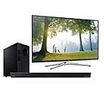 Samsung 55' LED Smart HDTV with Soundbar and Wireless Subwoofer 1199.99