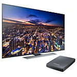 Samsung 55' 4K Ultra HD 3D Smart TV with FREE UHD Video Pack 2197.99