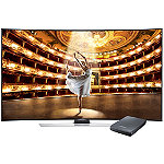 Samsung 55' Curved 4K Ultra HD 3D Smart TV with FREE UHD Video Pack 2497.99