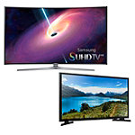 Samsung 55' Curved 4K SUHD 3D Smart TV with FREE 32' LED HDTV