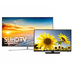 Samsung 55' 4K SUHD Smart TV with FREE 40' 1080p LED HDTV