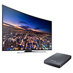 Samsung 65' 4K Ultra HD 3D Smart HDTV with FREE UHD Video Pack 2797.99