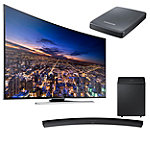 Samsung 65' Curved 4K Ultra HD 3D Smart HDTV with Curved Soundbar and FREE UHD Video Pack 3397.99