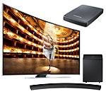 Samsung 65' Curved 4K Ultra HD 3D Smart TV with Curved Soundbar and FREE UHD Video Pack 4297.99
