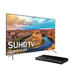 Save $200 on Samsung 65' 4K SUHD Smart TV and 4K Ultra HD 3D Blu-ray Player