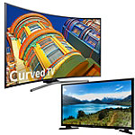 Samsung 65' Curved 4K Ultra HD Smart TV with FREE 32' 720p LED HDTV
