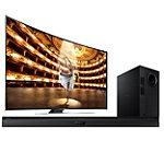 Samsung 78' 3D Curved UHD 4K Smart HDTV with FREE Soundbar and Wireless Subwoofer 7997.99
