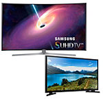 Samsung 78' Curved 4K SUHD Smart TV with FREE 32' LED HDTV
