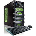 CybertronPC Green Unleashed-R7 Gaming PC with AMD FX 6300 Processor