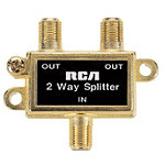 RCA 2-way Signal Splitter Frequency 5 to 900Mhz 2.99