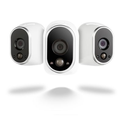 Netgear Arlo Security System with 3 HD Cameras