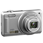 Olympus 14 Megapixel Silver Camera with 12.5x Wide-Angle Optical Zoom 99.95