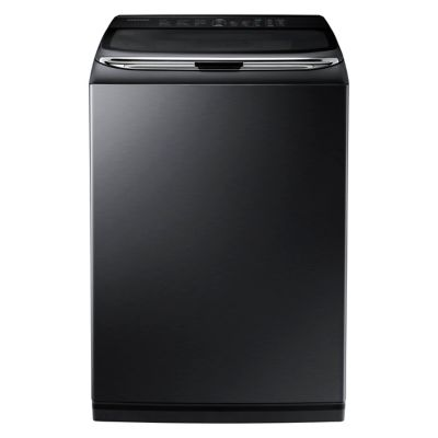 Samsung 5 Cu. Ft. Black Stainless Steel activewash™ High-Efficiency Top-Load Washer  with Integrated Touch Controls