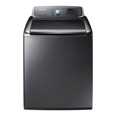 Samsung 5.6 Cu. Ft. Platinum High-Efficiency Top-Load Steam Washer