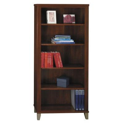 Bush Somerset 5-Shelf Bookcase