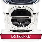LG 27' White Pedestal Washer