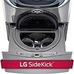 LG 29'/30' Graphite Steel Pedestal Washer