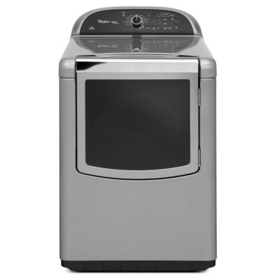Whirlpool 7.6 Cu. Ft. Cabrio® Chrome Shadow Steam Electric Dryer