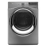 Whirlpool 7.3 Cu. Ft. Chrome Shadow Duet® Steam Electric Dryer