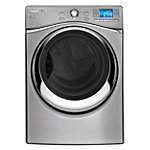 Whirlpool 7.4 Cu. Ft. Stainless-Look Smart Front-Load Electric Dryer