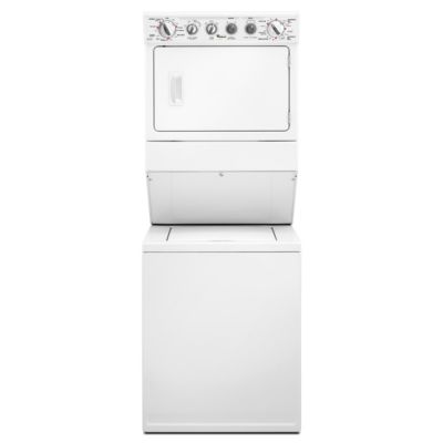 Whirlpool Stack Laundry Center with 2.5 Cu. Ft. Washer and 5.9 Cu. Ft. Electric Dryer