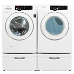 Samsung 3.6 Cu. Ft. Front-Load Washer and  7.3 Cu. Ft. Electric Dryer 1199.98