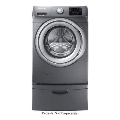 Samsung 4.2 Cu. Ft. Platinum Steam Front-Load Washer (Pedestal Sold Separately)