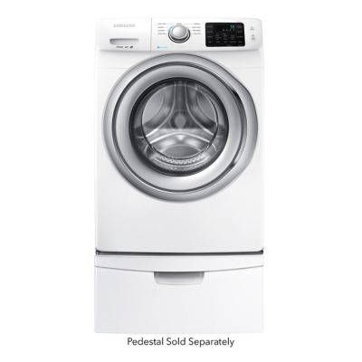Samsung 4.2 Cu. Ft. Steam Front-Load Washer (Pedestal Sold Separately)