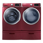 Samsung 4.2 Cu. Ft. Steam Front-Load Washer and 7.5 Cu. Ft. Steam Electric Dryer 1799.99