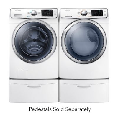Samsung 4.2 Cu. Ft. Steam Front-Load Washer and 7.5 Cu. Ft. Steam Electric Dryer