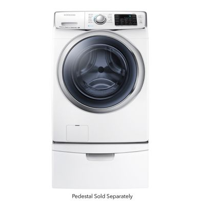Samsung 4.5 Cu. Ft. Steam Front-Load Washer (Pedestal Sold Separately)