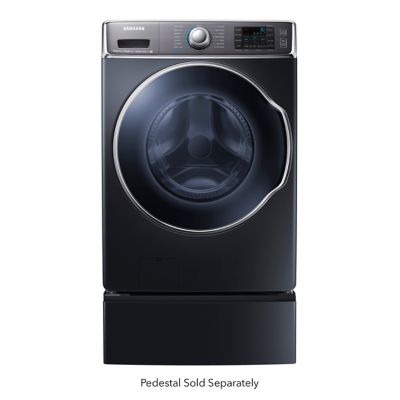 Samsung 5.6 Cu. Ft. Steam Front-Load Washer (Pedestal Sold Separately)