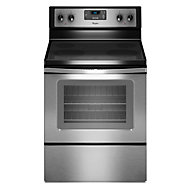 Whirlpool 30' Stainless Steel Smoothtop Electric Range