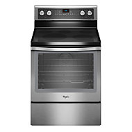 Whirlpool 30' Stainless Steel Convection Smoothtop Electric Range