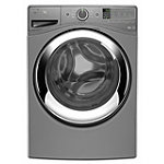 Whirlpool 4.3 Cu. Ft. Chrome Shadow Duet® Steam Front-Load Washer