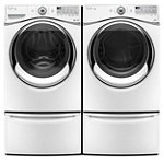 Whirlpool 4.3 Cu. Ft. Duet® Steam Front-Load Washer and 7.4 Cu. Ft. Steam Electric Dryer 1799.98