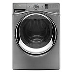 Whirlpool 4.5 Cu. Ft. Chrome Shadow Duet® Steam Front-Load Washer