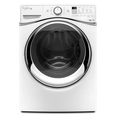 Whirlpool 4.5 Cu. Ft. Duet® Steam Front-Load Washer (Pedestal Sold Separately)