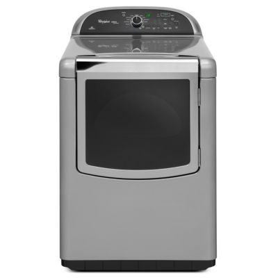 Whirlpool 7.6 Cu. Ft. Cabrio® Chrome Shadow Steam Gas Dryer