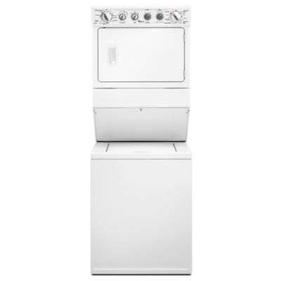 Whirlpool Stack Laundry Center with 2.5 Cu. Ft. Washer and 5.9 Cu. Ft. Gas Dryer