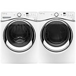 Whirlpool 4.5 Cu. Ft. Duet® Steam Front-Load Washer and 7.4 Cu. Ft. Steam Electric Dryer