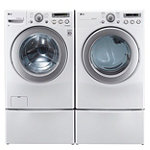 LG 3.6 Cu. Ft. Front-Load Washer and 7.1 Cu. Ft. Electric Dryer