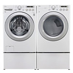 LG 4 Cu. Ft. Front-Load Washer and 7.3 Cu. Ft. Electric Dryer 1299.98